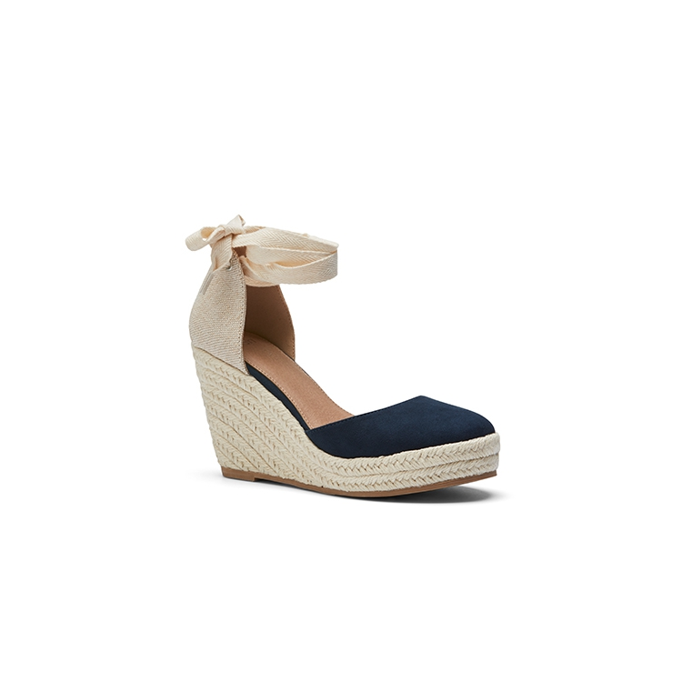 BENITO WEDGES IN NUDE
