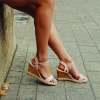 BALIA WEDGE IN NUDE