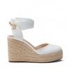 BELLO WEDGES IN WHITE
