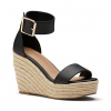 WONDERMENT WEDGES IN BLACK