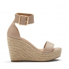 WONDERMENT WEDGES IN NUDE