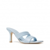 LINK HEELS IN SOFT BLUE