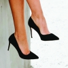 IMPOSSIBLE HEELS IN BLACK