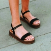 THIRSTY WEDGES IN BLACK