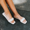 ZURA MULE IN WHITE