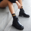 DYNAMICAL  BOOTS IN BLACK