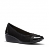 BOMA WEDGES IN BLACK