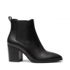 KAPOW BOOTS IN BLACK SMOOTH