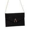 ANNABA CLUTCH BAG IN BLACK