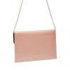 ANNABA CLUTCH BAG IN NUDE PATENT