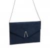 ANNABA CLUTCH BAG IN NAVY