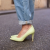 IMPOSSIBLE HEELS IN AVOCADO