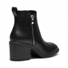 KASSEKA BOOTS IN BLACK SMOOTH