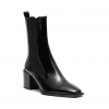DNA BOOTS IN BLACK PATENT