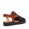 BUDAPEST WEDGE IN BLACK
