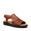BUDAPEST WEDGE IN TAN