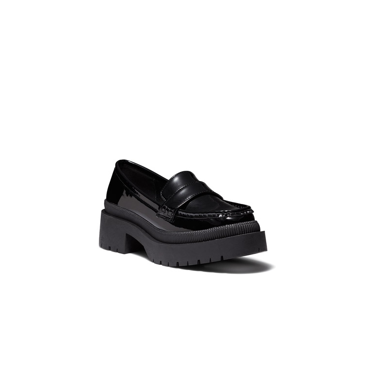 ERES LOAFERS IN BLACK CROC