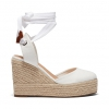 BUENOSAIRES WEDGES IN WHITE