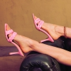 ZION MULES IN PINK