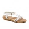 TOMOS SANDALS IN WHITE
