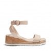 BEIRUT WEDGES IN NUDE
