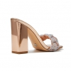 ZHIMMER LUXE HEELS IN ROSE GOLD