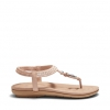 SIDELIGHT SANDALS IN NUDE