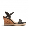 BOOMA WEDGES IN BLACK