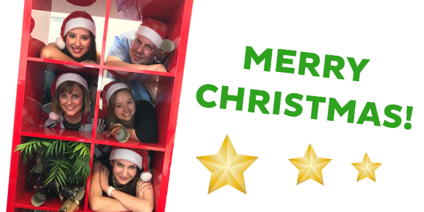 The Alecto team at Christrmas
