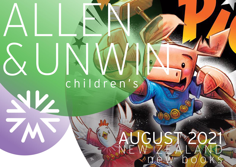 JUNE 2021 NZ KIDS NEW BOOKS