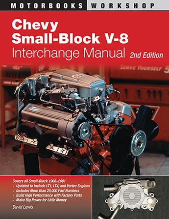 Chevy Small-Block V-8 Interchange Manual - David Lewis