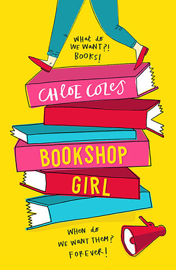 Image result for bookshop girl chloe coles