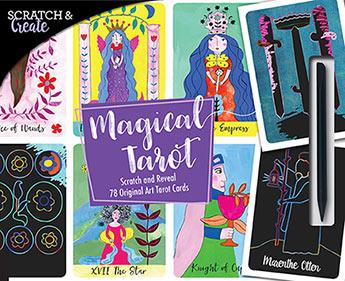 Scratch & Create Magical Tarot - Marenthe Otten - 9781631595134