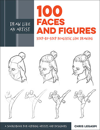 100 Faces and Figures (Draw Like an Artist)