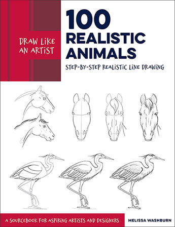 100 Realistic Animals (Draw Like an Artist)