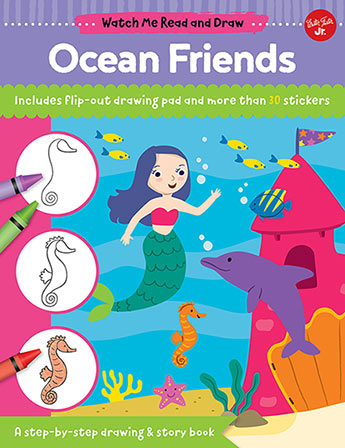 Ocean Friends Watch Me Read And Draw Samantha Chagollan
