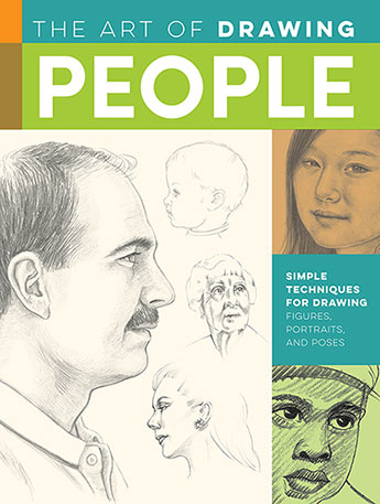 Drawing: People with William F. Powell