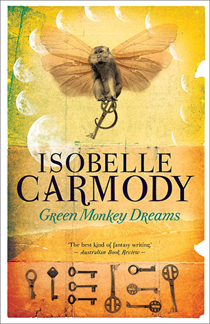 Image result for green monkey dreams isobelle carmody book cover