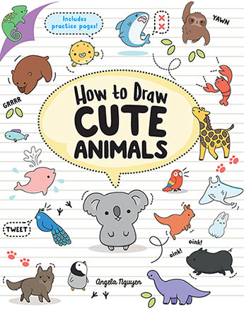 Step By Step Drawing Cute Animals