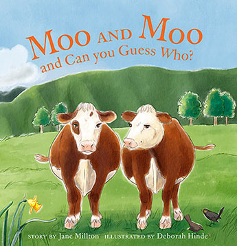 Moo and Moo and Can You Guess Who?