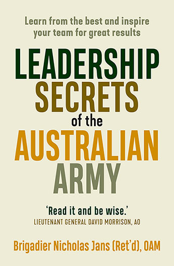 Leadership Secrets of the Australian Army