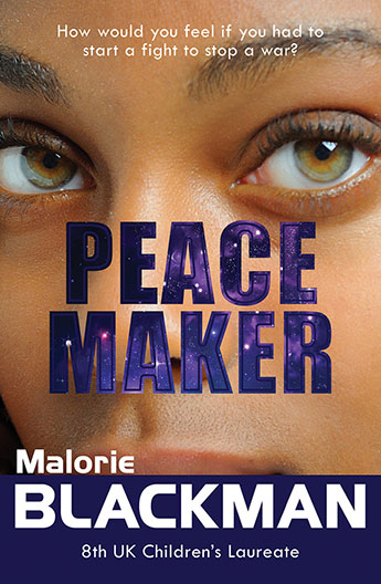 Illustrated Book Cover Generator : Peace maker malorie blackman illustrated by matthew