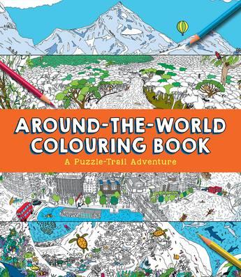 Around-the-World Colouring Book
