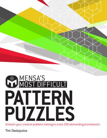 Most Difficult Pattern Puzzles (Mensa)