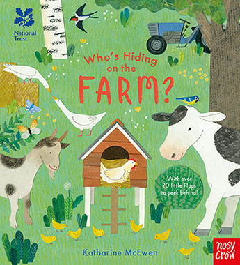 National trust whos hiding on the farm illustrated by katherine 9781788001823g m4hsunfo