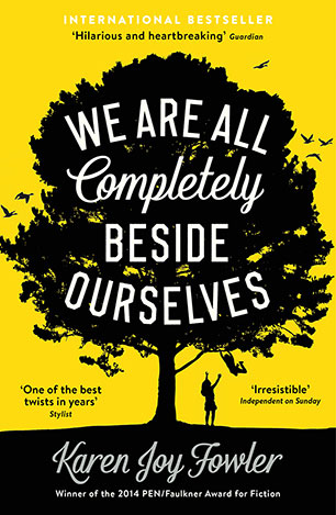 Image result for we are all completely beside ourselves cover