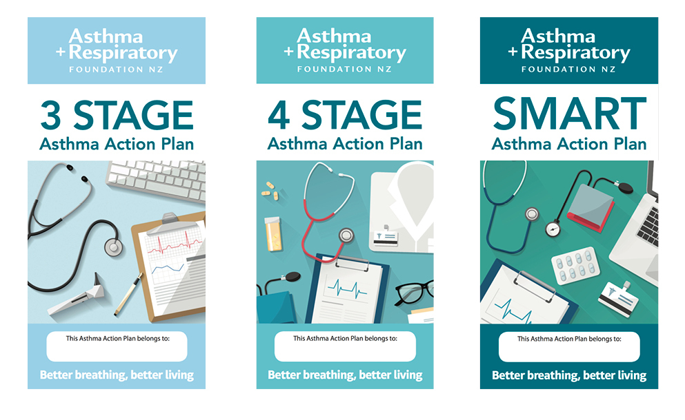 Asthma Action Plans - Asthma brochure template