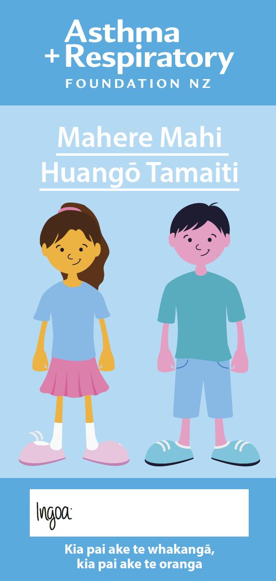 Child Asthma Action Plan - Te Reo Māori