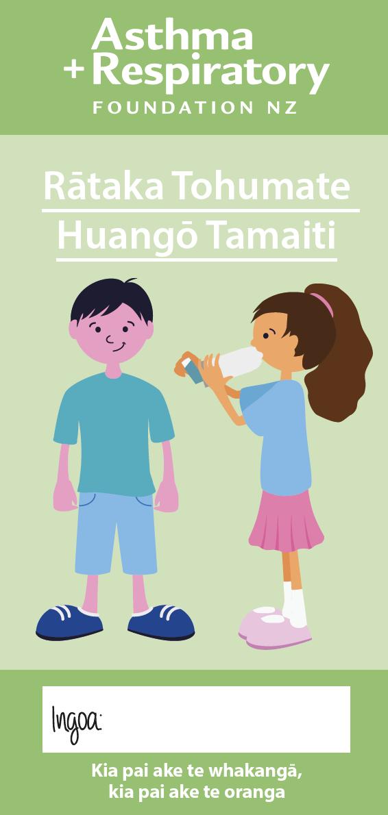 Child Symptom Diary - Te Reo Māori