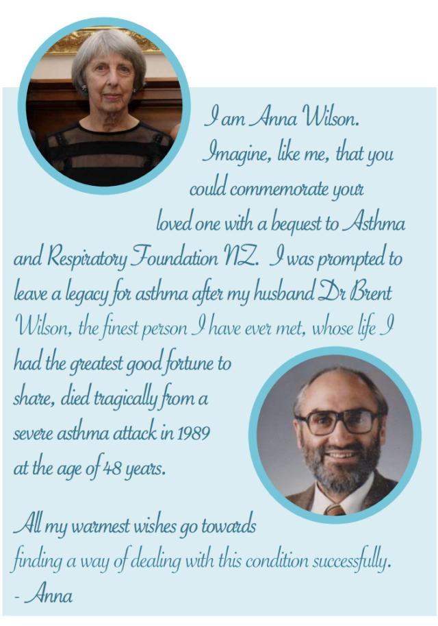 Anna Wilson Bequest